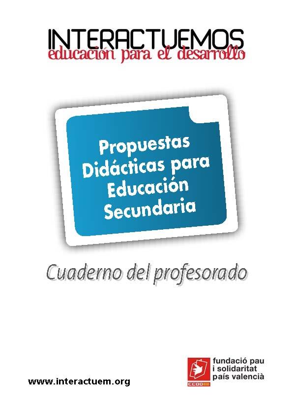 INTERACTUEMOS. Propuestas Didácticas para Educación Secundaria